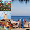 Souvenir: Sayulita, Mexico Vintage Style Travel Poster and Photos from Wanderlust Designer
