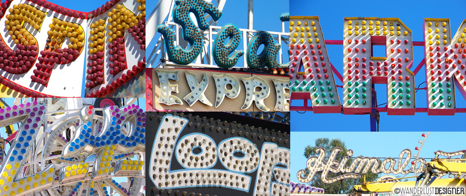 County Fair Typography by Wanderlust Designer