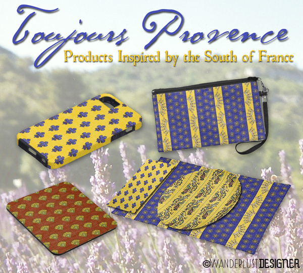 Products Inspired by the South of France by the Wanderlust Designer