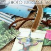 DIY Souvenir: Travel Photo Luggage Tags by Wanderlust Designer