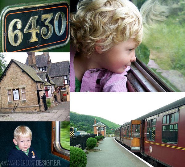 Photos from a Steam Train Trip in Wales by Wanderlust Designer