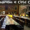 Harry Potter Inspiration at Christ Church College, Oxford, England