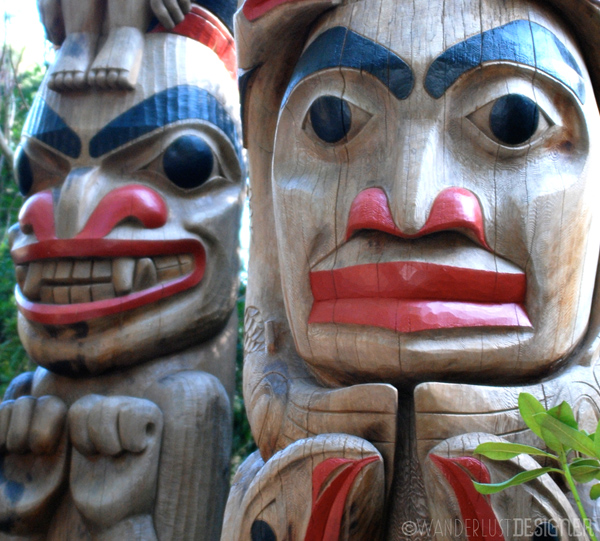 Two Totem Poles, North Vancouver by Wanderlust Designer