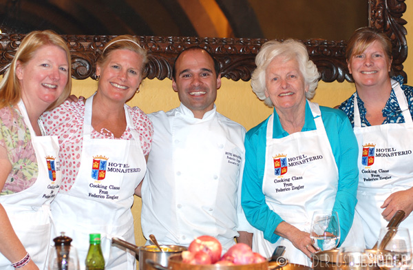 The Chefs - My Sisters, My Mom, Myself & Chef Frederico Ziegler from Hotel Monasterio