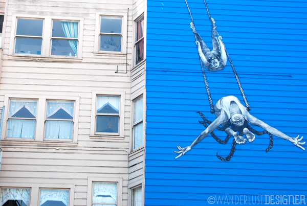 Swing Street Art, Mission District, San Francisco (photo by Wanderlust Designer)