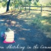 Sketching in the Country - En Plein Air by Wanderlust Designer