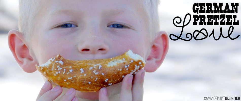 German Pretzel Love: This Boy Couldn't Get Enough! (by Wanderlust Designer)