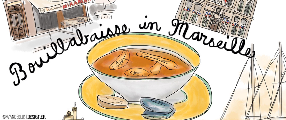 Bouillabaisse in Marseille, France by Wanderlust Designer