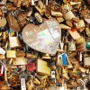Locks of Love on the Pont des Arts, Paris by Wanderlust Designer