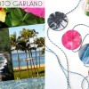 DIY Souvenir: Photo Garland Using Vacation Pictures by Wanderlust Designer