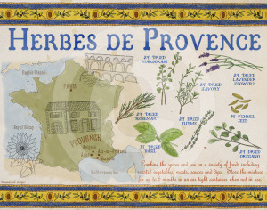 French Herbes de Provence Spice Mix