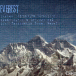 Mt Everest by Wanderlust Designer