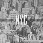 New York City Black and White Cityscape by Wanderlust Designer