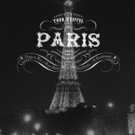 Paris Black and White Eiffel Tower by Wanderlust Designer