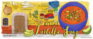 Tortilla Soup from Mexico by Wanderlust Designer