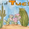 Portraits of Tucson, Arizona (watercolor by Wanderlust Designer)