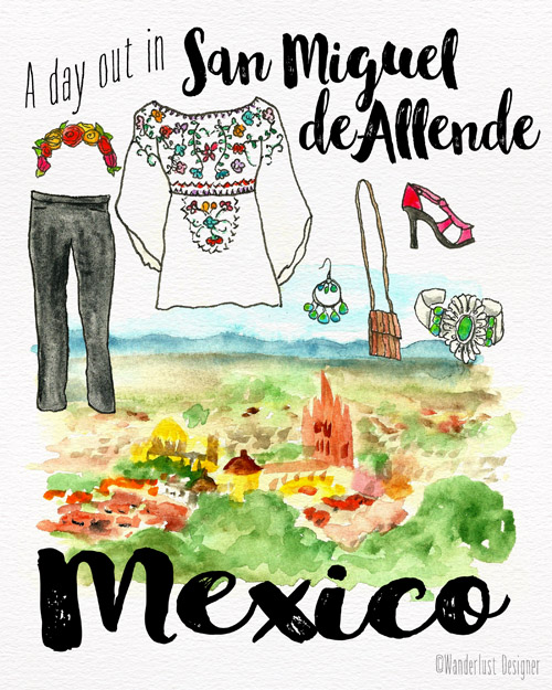 A Day Out in San Miguel de Allende by Wanderlust Designer