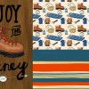 Camping Adventure Collection and Illustrations by Wanderlust Designer