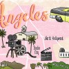 Los Angeles Illustrated Map by Wanderlust Designer