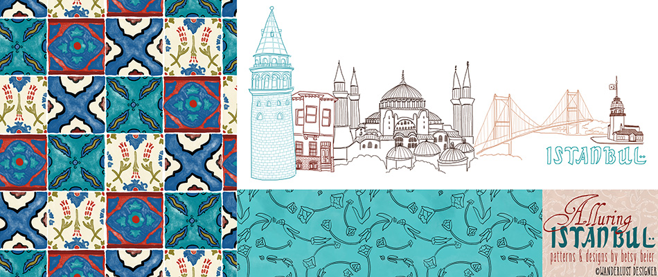 Alluring Istanbul Collection by Wanderlust Designer