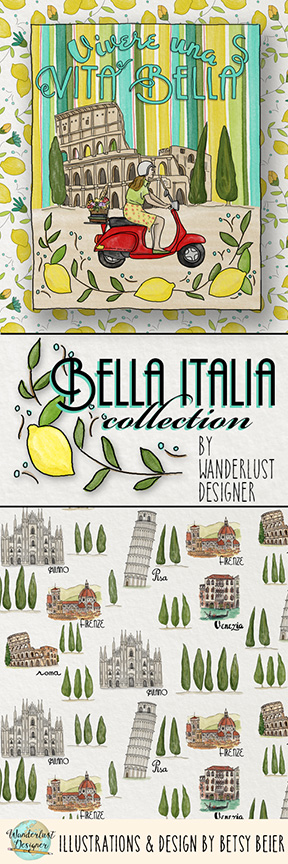 Bella Italia Collection by Wanderlust Designer
