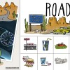 Road Trip Sticker Pack for Pic Collage by Wanderlust Designer