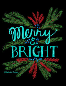 Merry and Bright by Wanderlust Designer