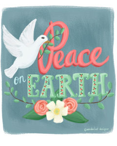 Peace on Earth by Wanderlust Designer