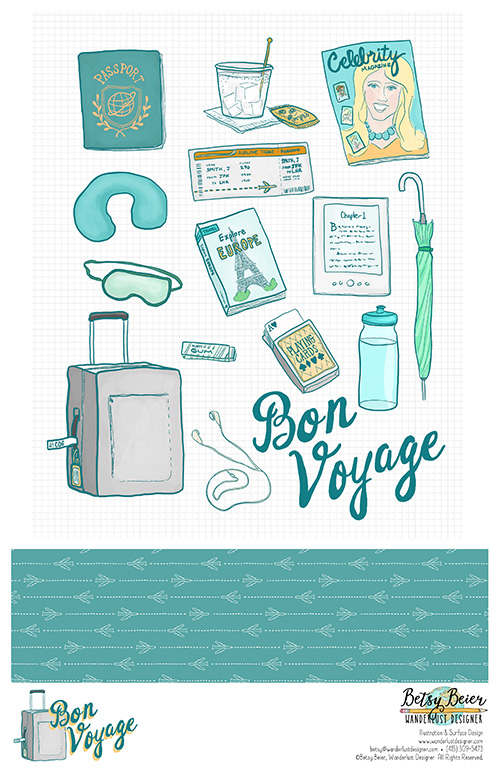 Bon Voyage Collection by Betsy Beier
