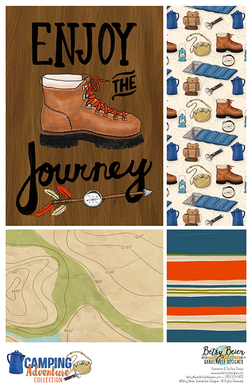 A Camping Adventure Collection by Betsy Beier