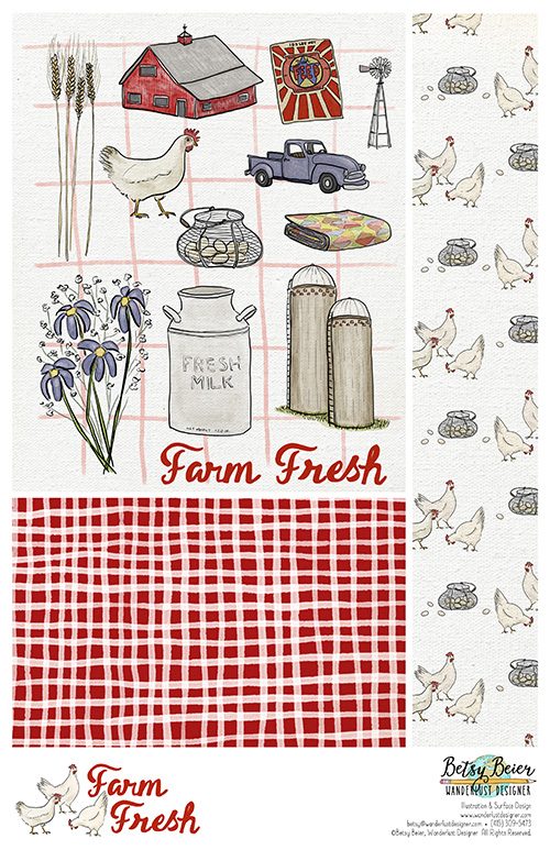 Farm Fresh Collection by Betsy Beier