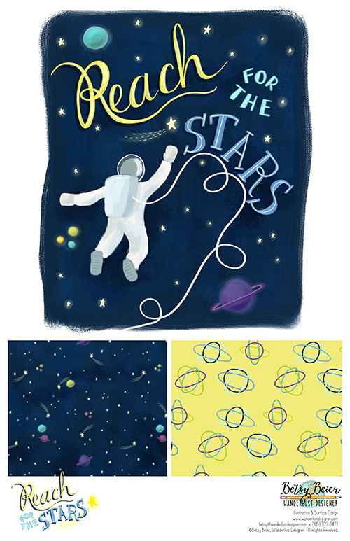 Reach for the Stars Collection by Betsy Beier