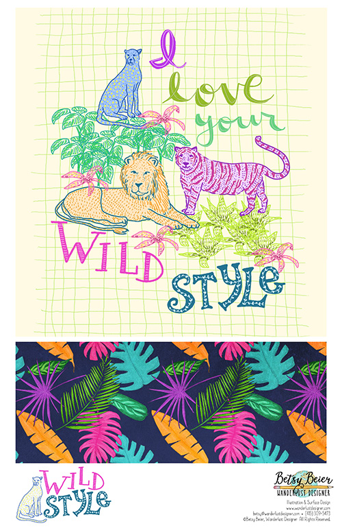 Wild Style Collection by Betsy Beier