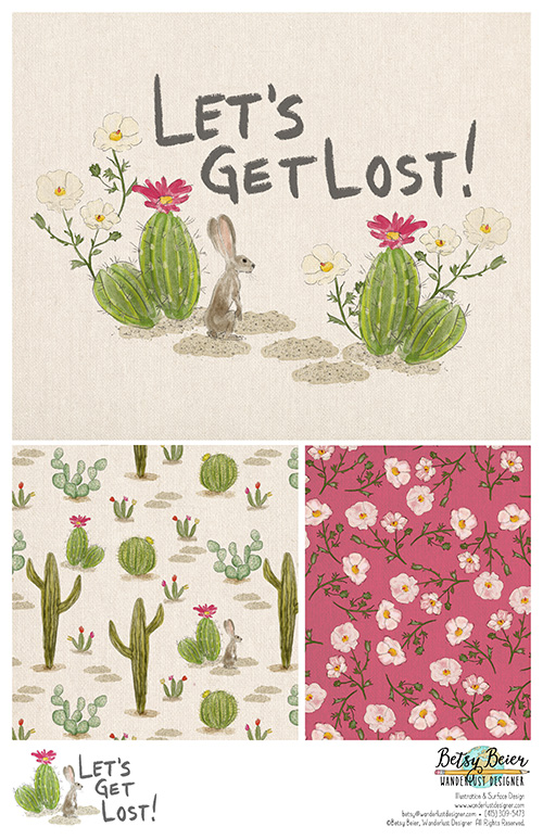 Let's Get Lost Desert Collection by Betsy Beier