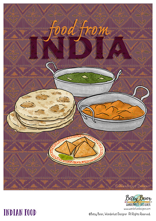 Foods from India by Betsy Beier