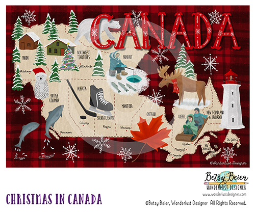 Christmas in Canada by Betsy Beier