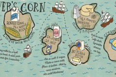 Gulliver's Corn Illustrated Recipe by Wanderlust Designer