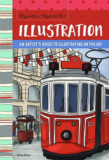 Anywhere, Anytime Art: Illustration by Betsy Beier
