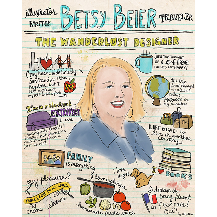 Illustrated Interview: Betsy Beier, the Wanderlust Designer