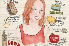 Illustrated Interview: Julie Tulba, The Red Headed Traveler (by Betsy Beier)
