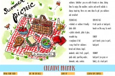 Summer Creative Adventure No. 1 - Picnic Time